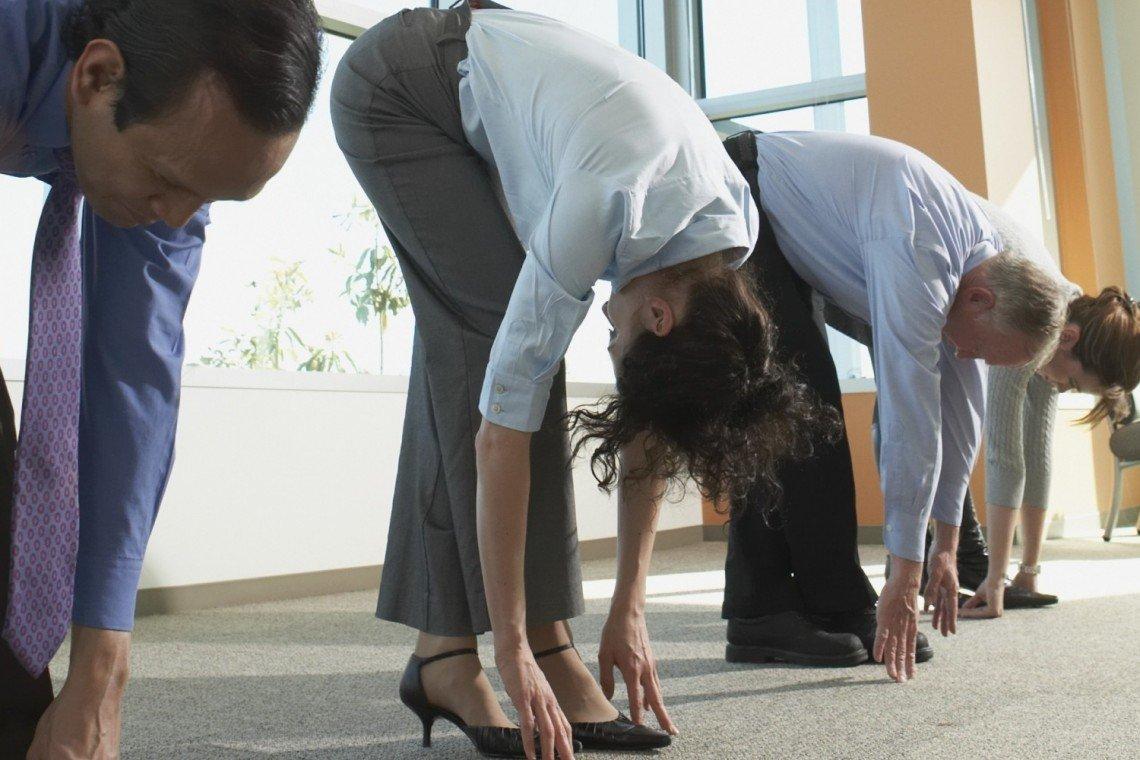 Sport au travail : le fitness