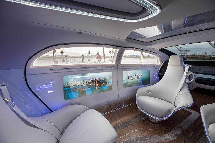 La voiture : bureau du futur ?