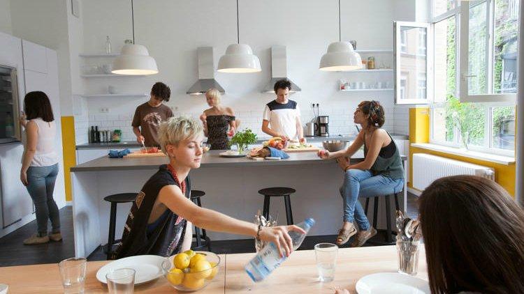 Le coliving : vivre et travailler au même endroit