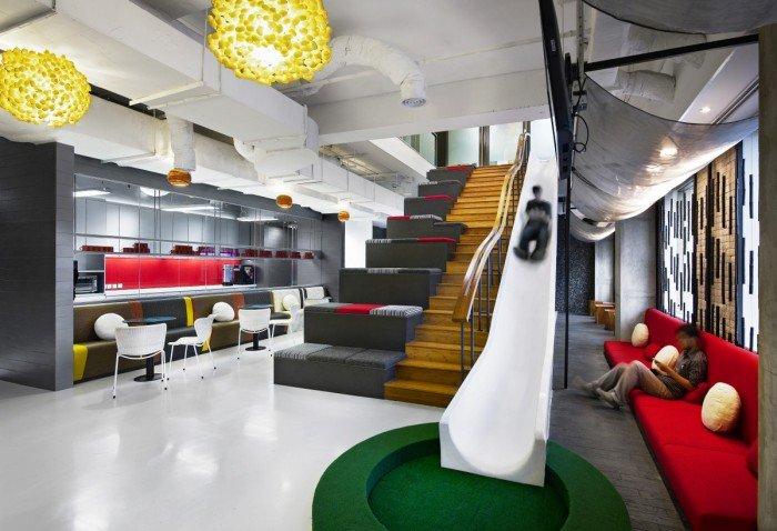 Top 10 des espaces de travail atypiques